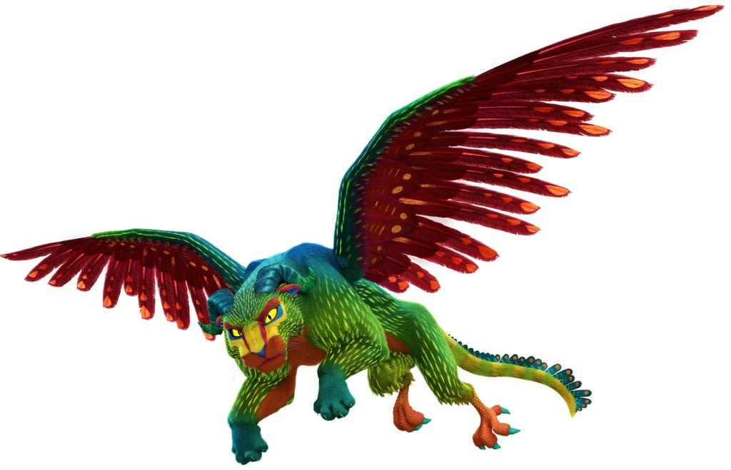 A Closer Look Into Alebrijes, Pepita, and Dante In COCO Pepita Photo