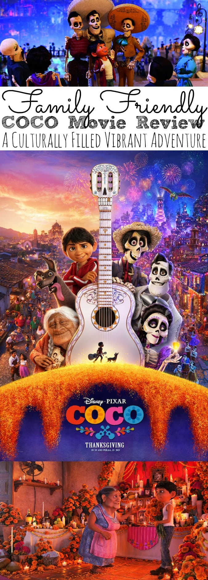 Family Friendly COCO Movie Review