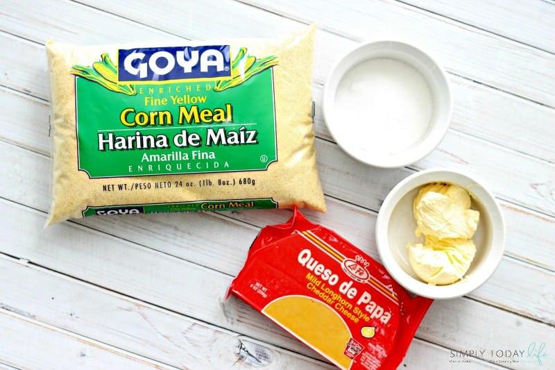 Puerto Rican Sorullitos de Maíz Con Queso Recipe Ingredients