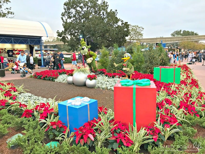 A Family Guide To Epcot International Festival of the Holidays - Christmas Decorations