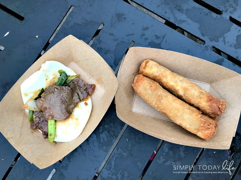 A Family Guide To Epcot International Festival of the Holidays - Food Tasting Asia