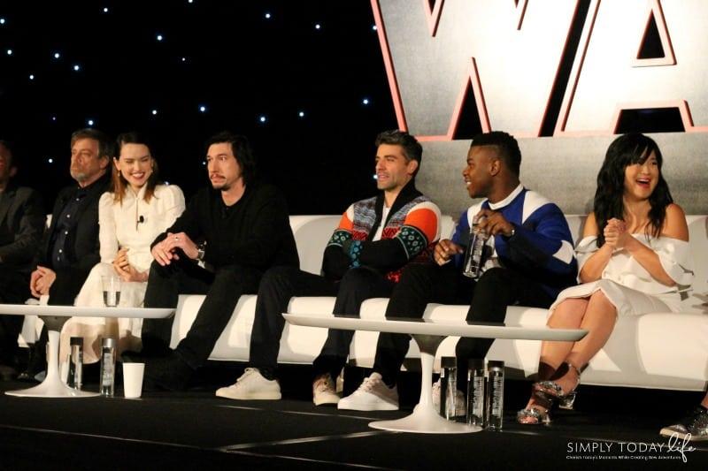 A Front Row View At Star Wars: The Last Jedi Global Press Junket - John Boyega