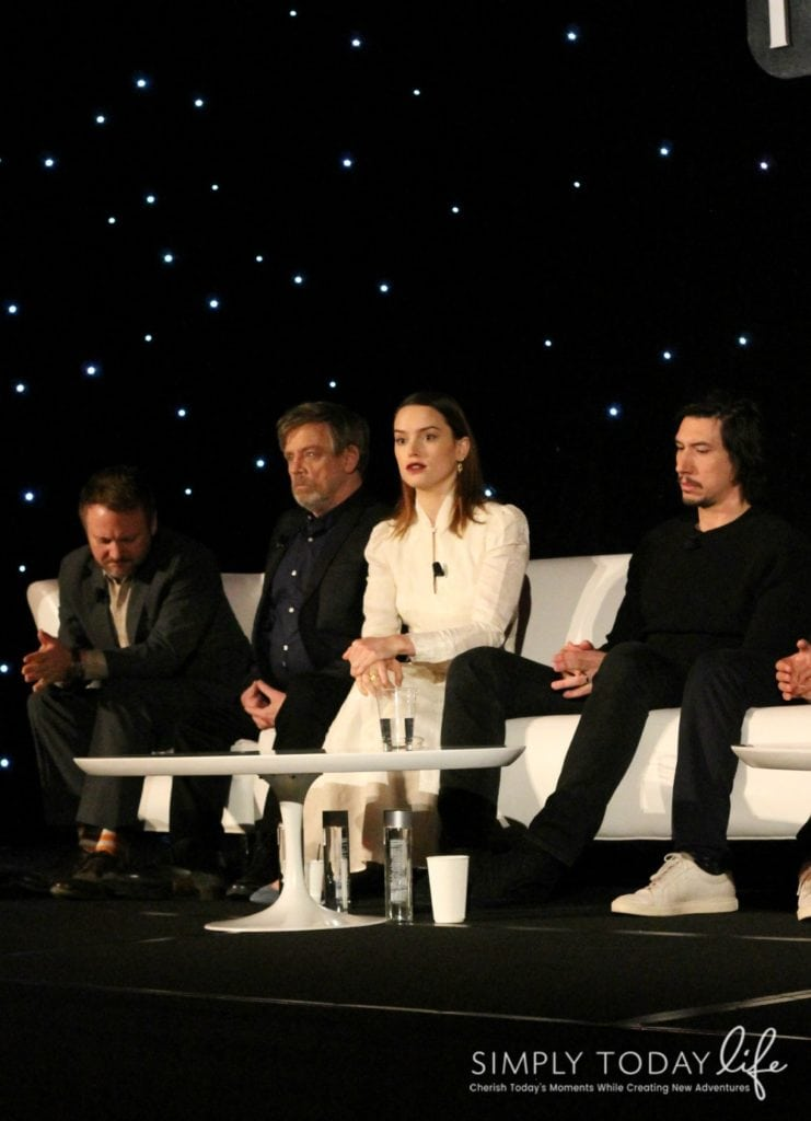 A Front Row View At Star Wars: The Last Jedi Global Press Junket - Daisy Ridley