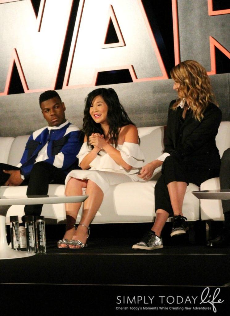 A Front Row View At Star Wars: The Last Jedi Global Press Junket - Kelly Marie Tran