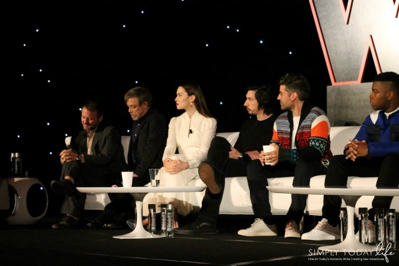 A Front Row View At Star Wars: The Last Jedi Global Press Junket #TheLastJediEvent