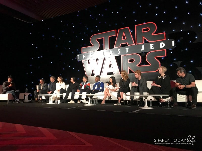 A Front Row View At Star Wars: The Last Jedi Global Press Junket - The Last Jedi Cast Interviews