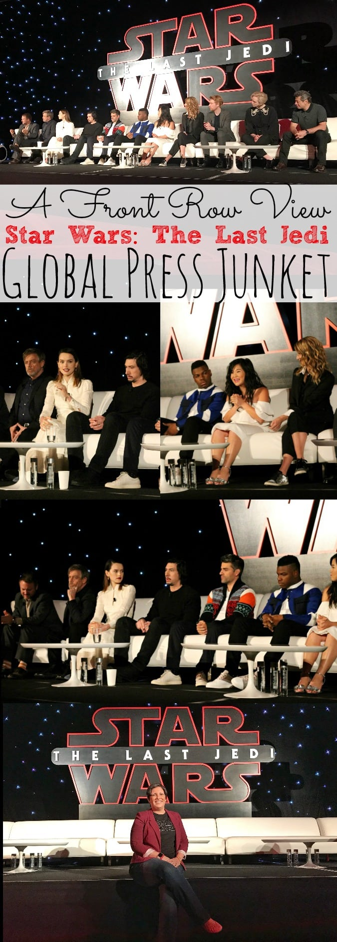 A Front Row View At Star Wars: The Last Jedi Global Press Junket #TheLastJediEvent - simplytodaylife.com