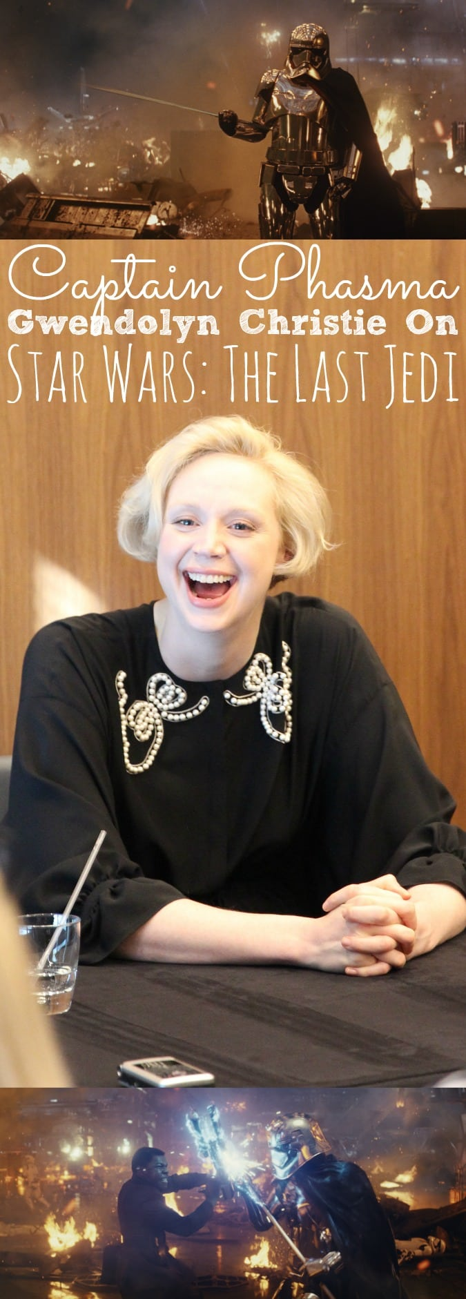 Interview with Gwendolyn Christie The Last Jedi