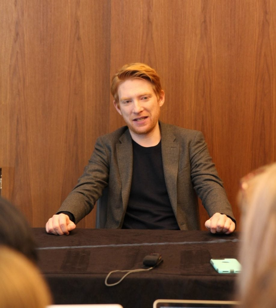 Interview With Domhnall Gleeson On His Role As General Hux in Star Wars: The Last Jedi #TheLastJediEvent