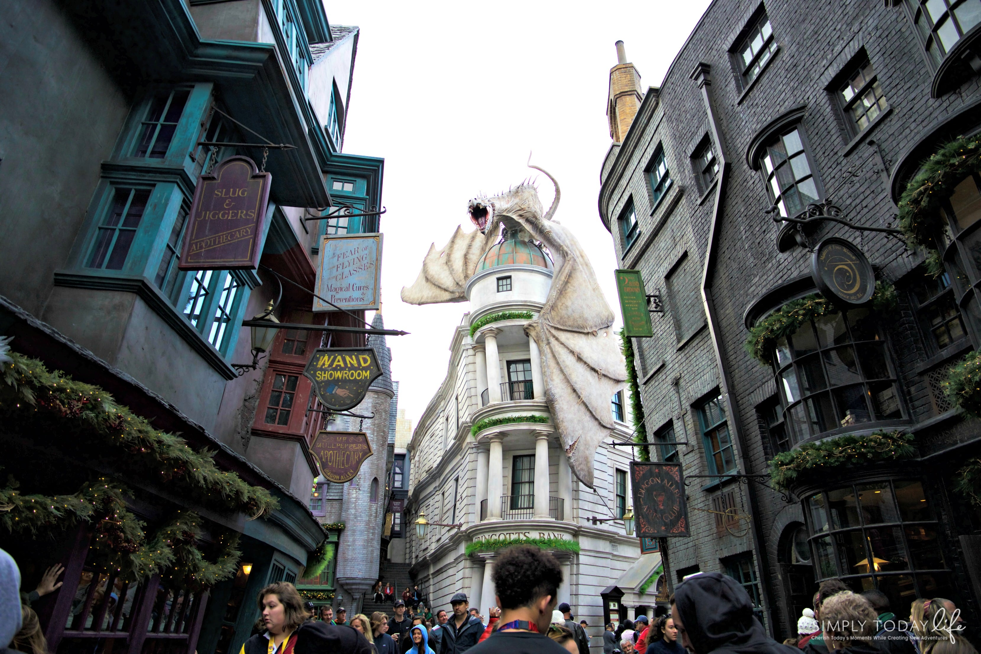 Family Guide To Celebrating the Holidays at Universal Orlando Resort - Diagon Alley