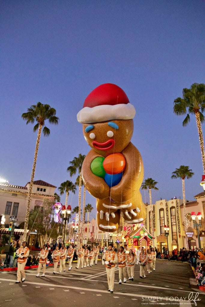 Family Guide To Celebrating the Holidays at Universal Orlando Resort - Gingie in the Universal Holiday Parade