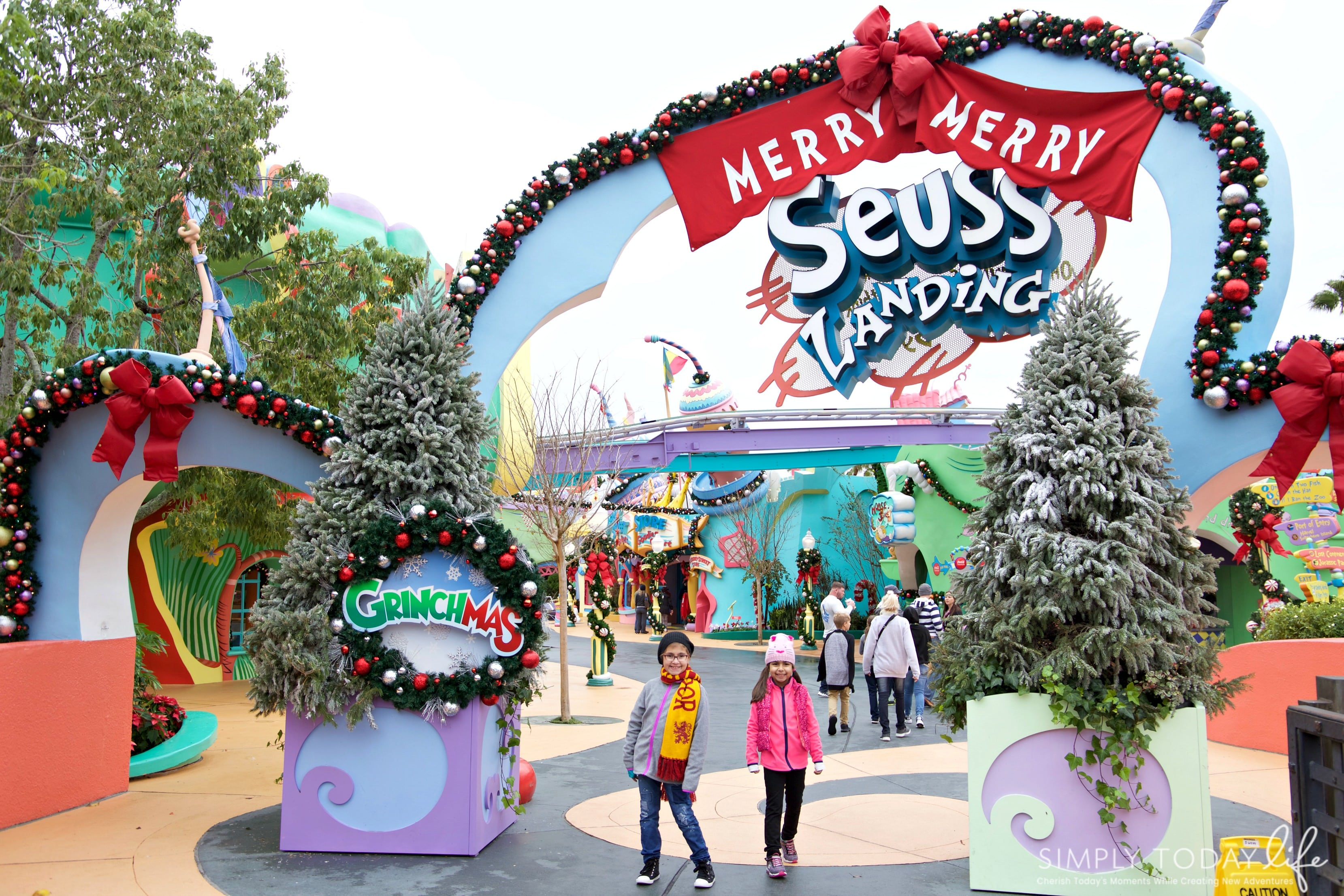 Family Guide To Celebrating the Holidays at Universal Orlando Resort - Seuss Landing