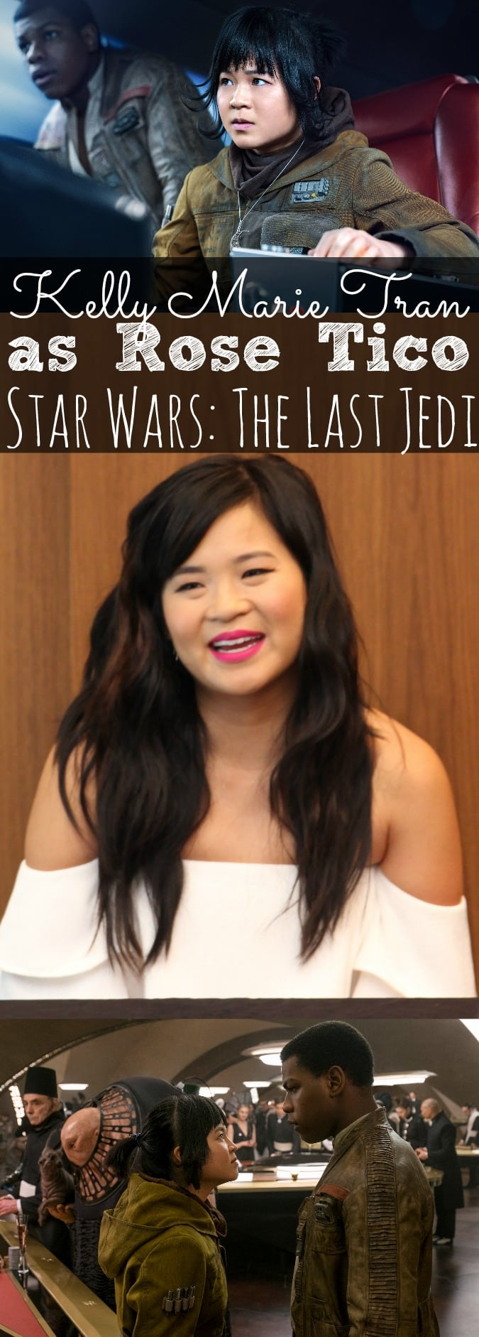 Interview with Kelly Marie Tran On Her Role As Rose Tico In Star Wars: The Last Jedi (ad) #TheLastJediEvent - simplytodaylife.com