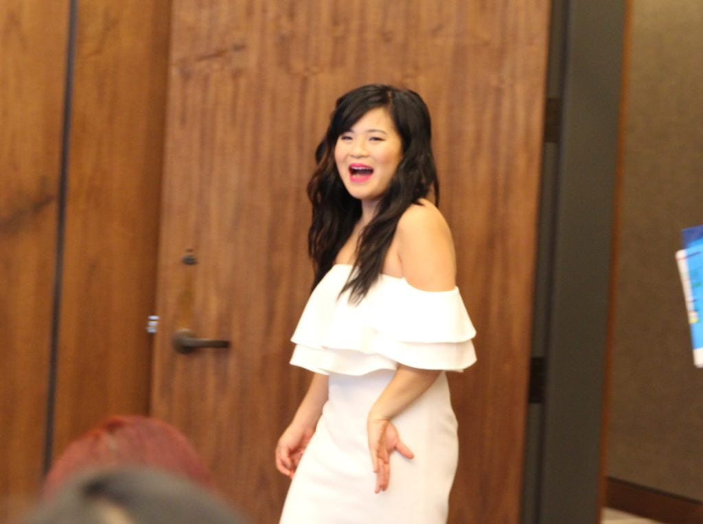 Interview with Kelly Marie Tran On Her Role As Rose Tico In Star Wars: The Last Jedi #TheLastJediEvent - Kellie Marie Tran Photo