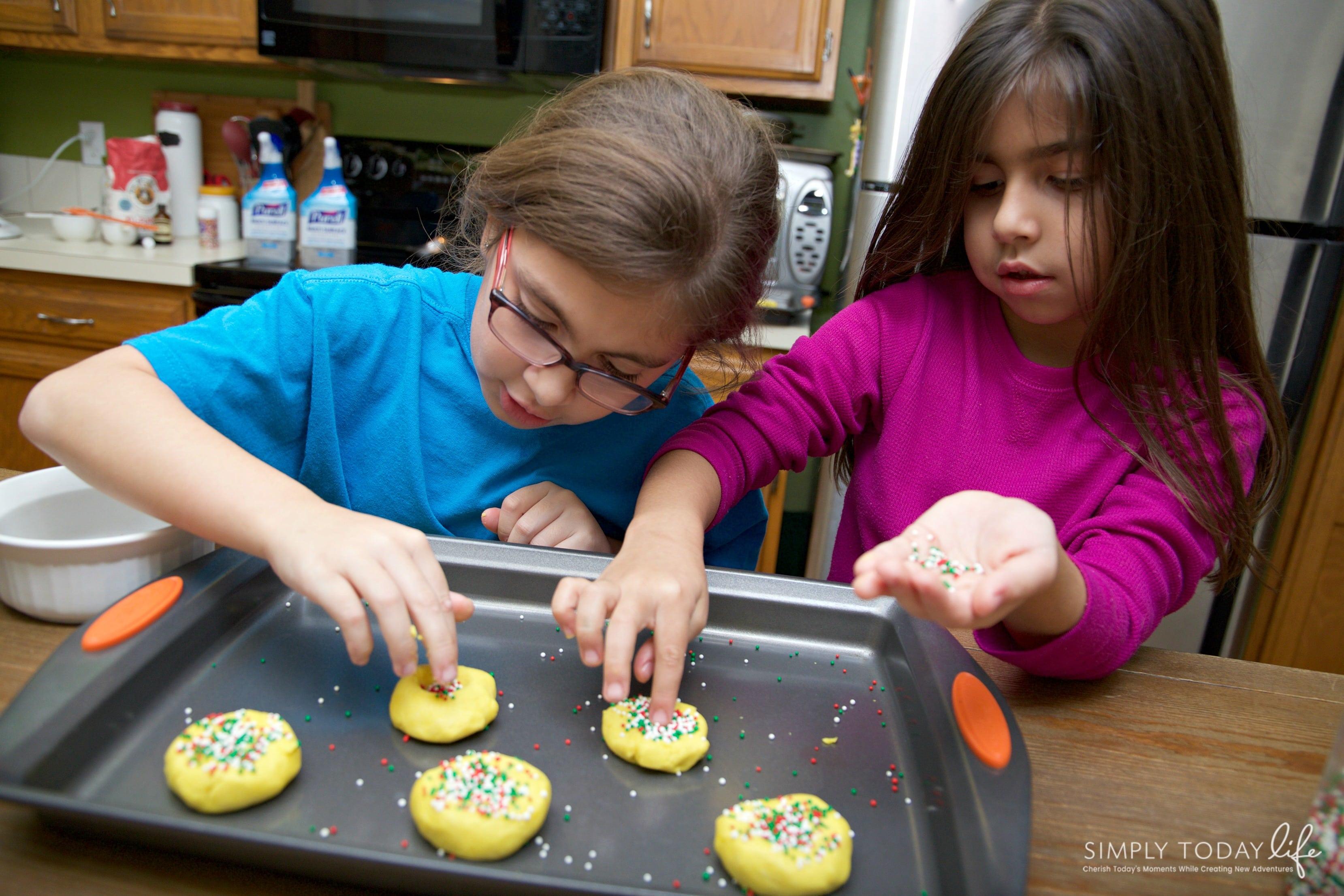 Mantecaditos Puerto Rican Cookie Recipe Perfect for Santa - Easy Santa Cookie Recipes
