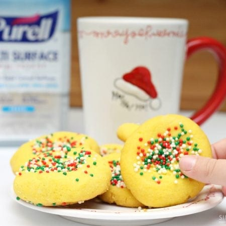 Mantecaditos Puerto Rican Cookie Recipe Perfect for Santa - simplytodaylife.com
