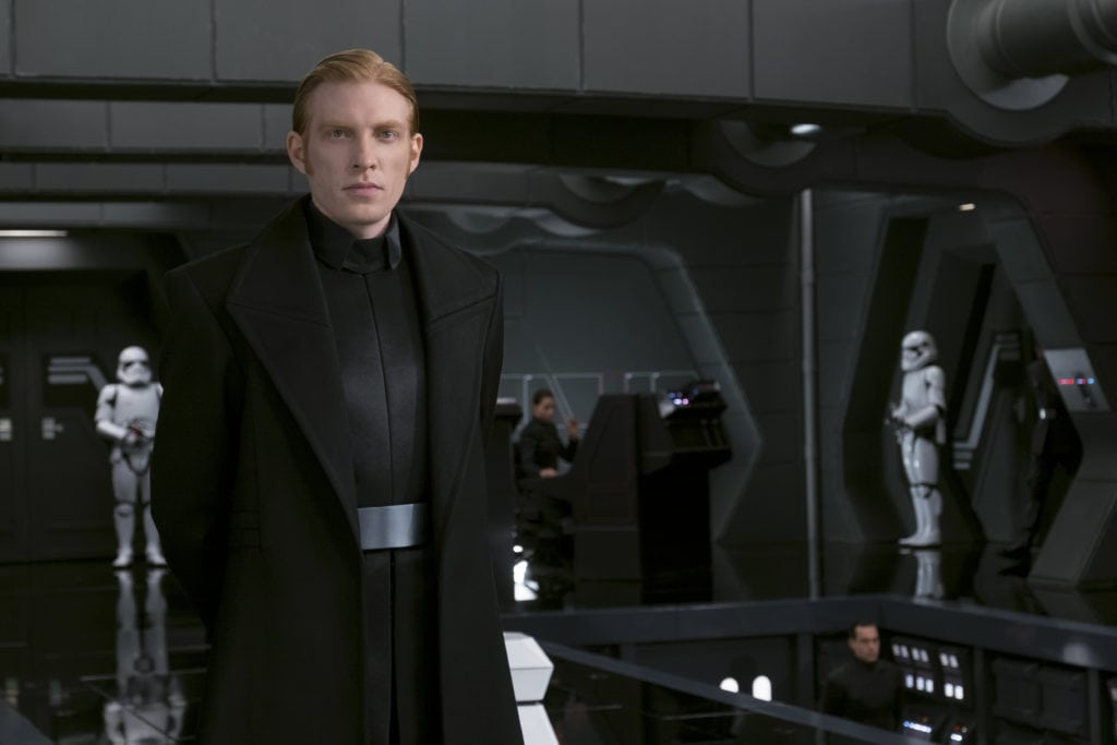 Interview With Domhnall Gleeson On His Role As General Hux in Star Wars: The Last Jedi - General Hux