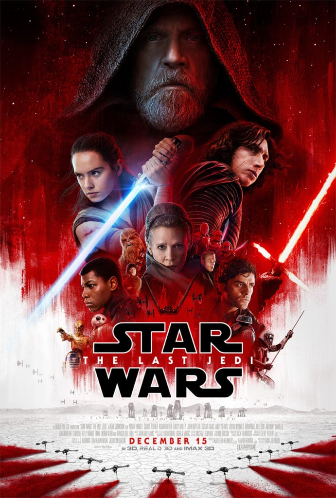 Experiencing Holiday Time at Disneyland and The Last Jedi on Star Tours - The Last Jedi Poster