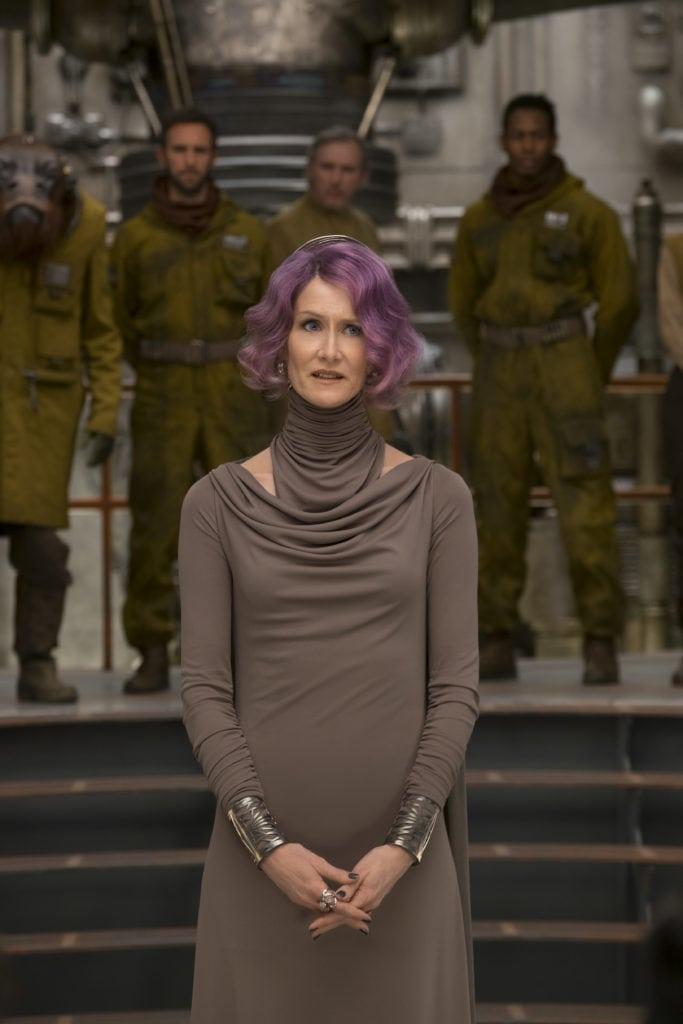 Interview With Laura Dern About Star Wars: The Last Jedi #TheLastJediEvent