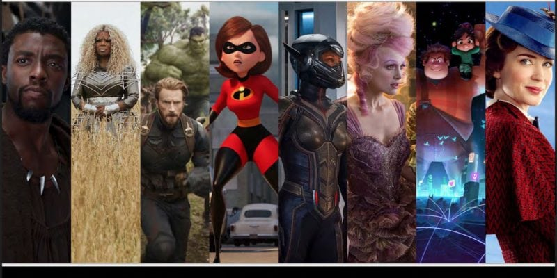 Most Amazing Disney Movies Coming Out In 2018 and We Can't Contain Ourselves
