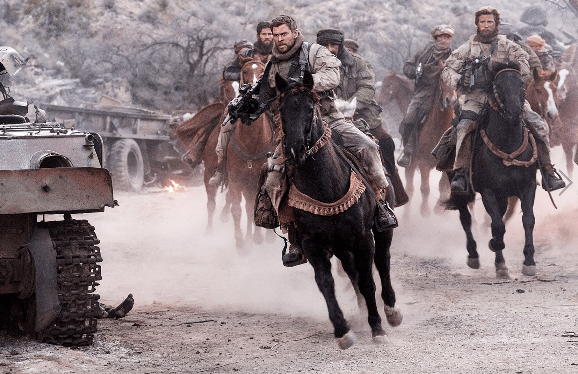 12 Strong Movie Review | A Tribute To Real-Life Warriors - simplytodaylife.com