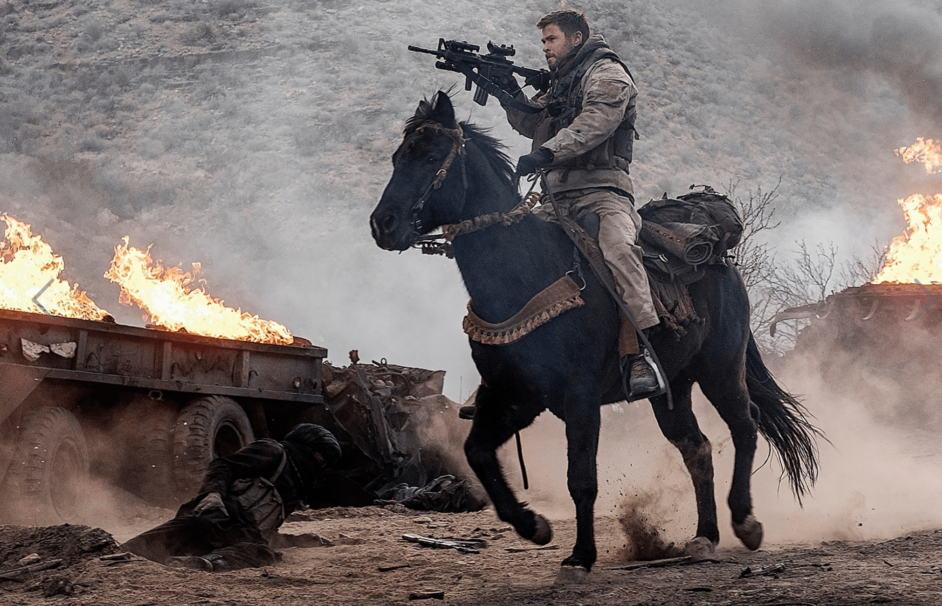 12 Strong Movie Review and Chris Hemsworth - simplytodaylife.com