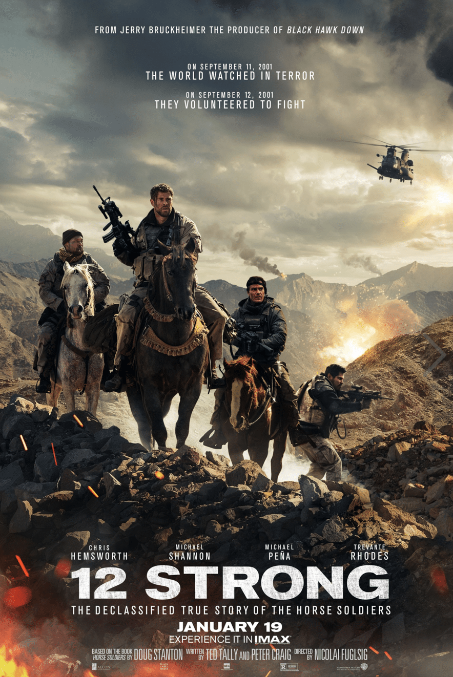 12 Strong Movie Review And Movie Poster - simplytodalife.com