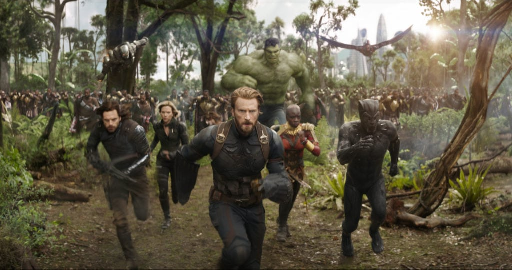 Avengers Infinity Wars Disney Movies Coming Out in 2018