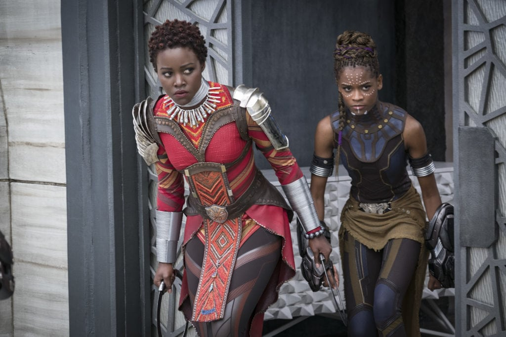 The Black Panther Woman - Black Panther Movie Review - simplytodaylife.com