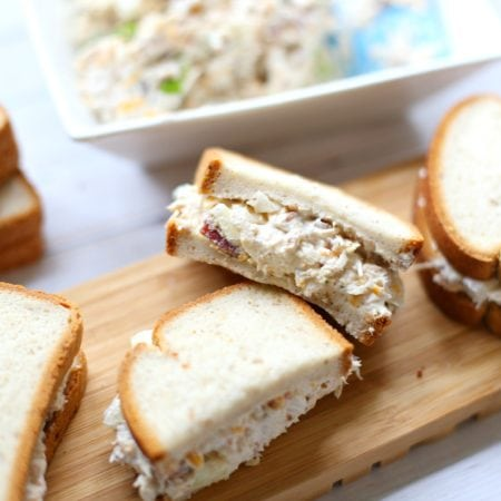 The Most Delicious Loaded Chicken Salad Sandwich Gluten-Free - simplytodaylife.com