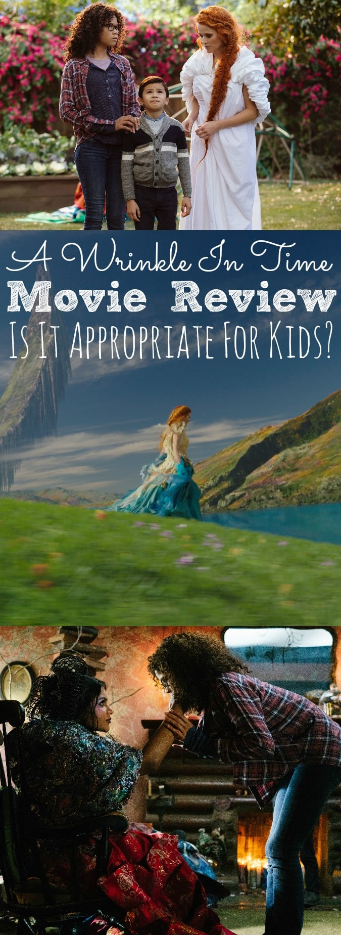 A Wrinkle In Time Movie Review Is It Appropriate For Kids