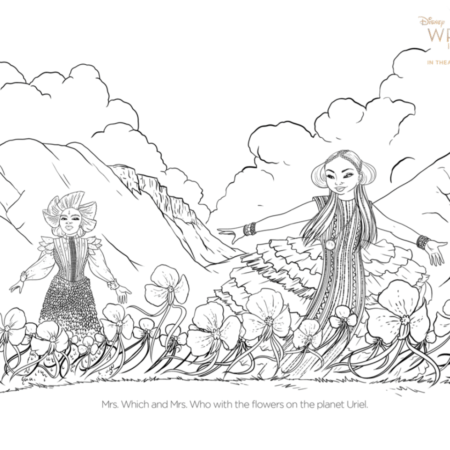 Free A Wrinkle In Time The Mrs Coloring Pages