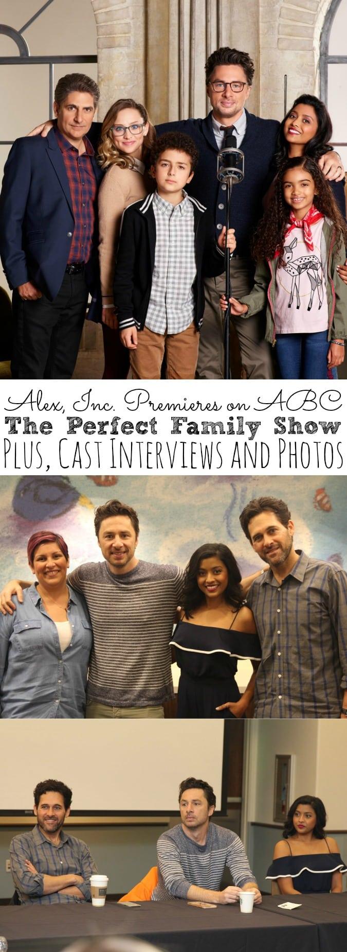 Alex Inc Cast Interviews