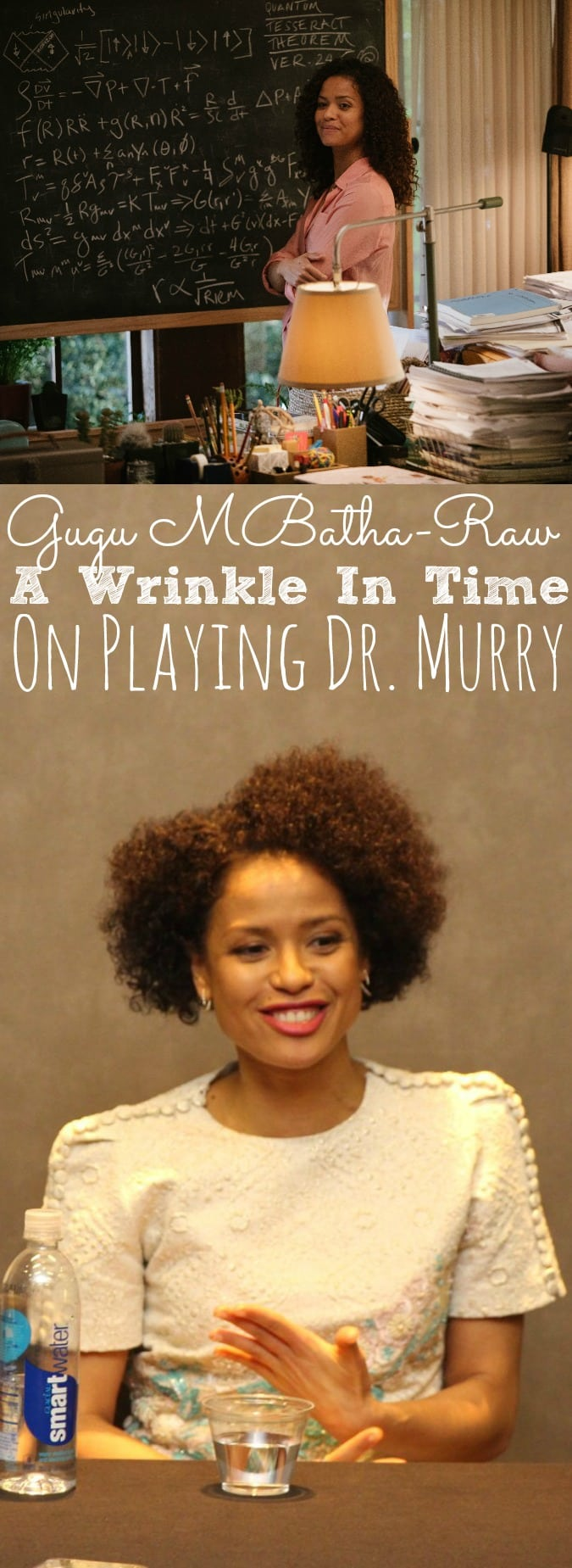 Gugu Mbatha-Raw Interview A Wrinkle In Time | On Her Role As Dr. Murry