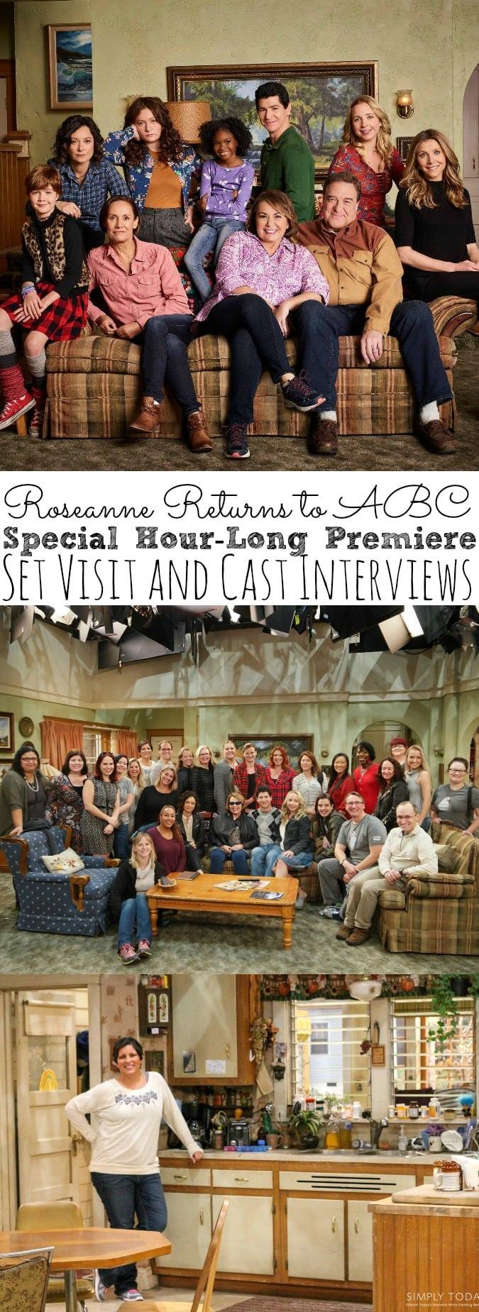 Roseanne Cast Interviews
