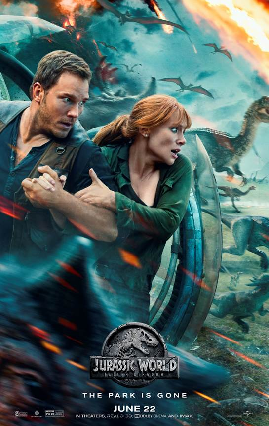 Jurassic World: Fallen Kingdom New Trailer and Poster | Welcome To Jurassic World
