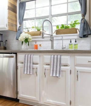 Kitchen-Farmhouse-DIY-Renovation-Paint-Cabinets