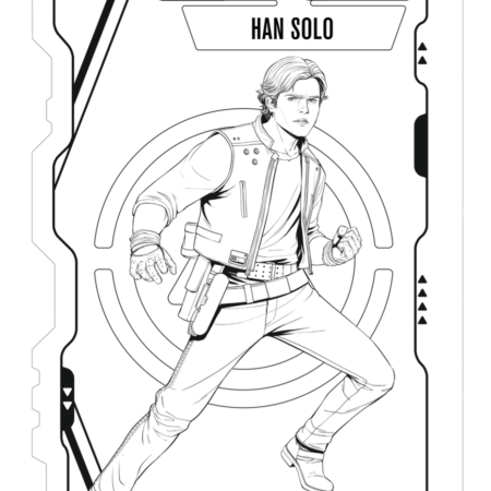 Han Solo A Star Wars Story Coloring Sheets Han Solo