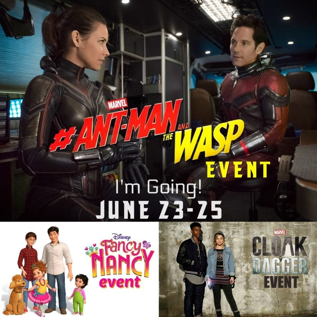 Ant-Man and the Wasp Press Event
