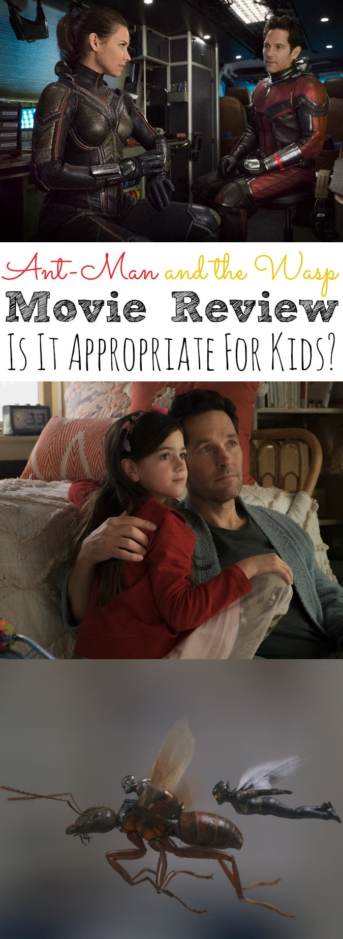Ant-Man and the Wasp Movie Review Is It Appropriate for Kids?