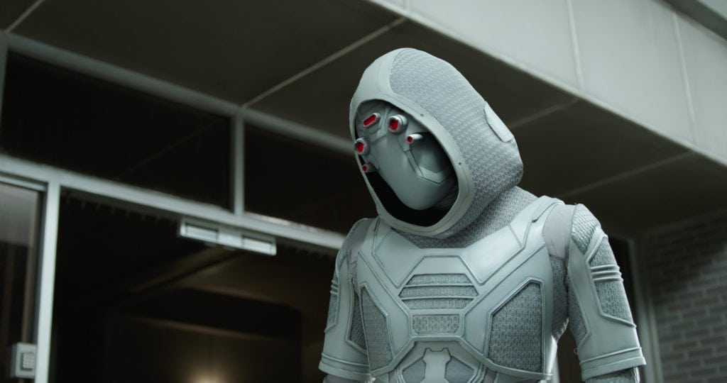 Hannah John-Kamen and Ghost in Ant-Man and the Wasp - simplytodaylife.com