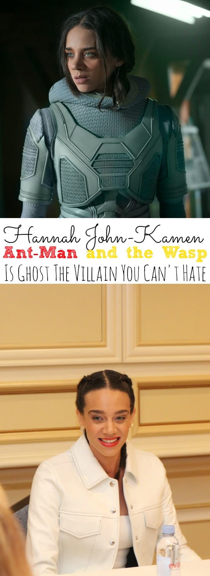 Hannah John-Kamen Interview Ant-Man and the Wasp | The Villain You Can't Hate