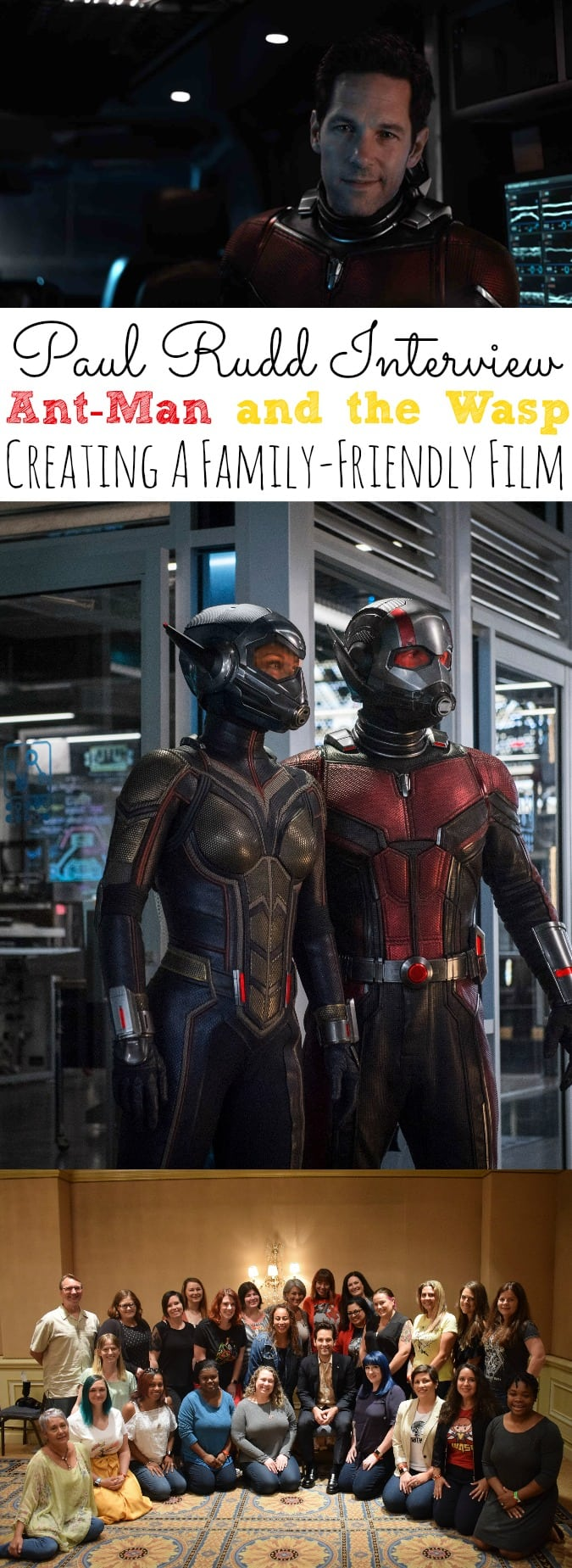 Paul Rudd Interview Ant-Man and the Wasp