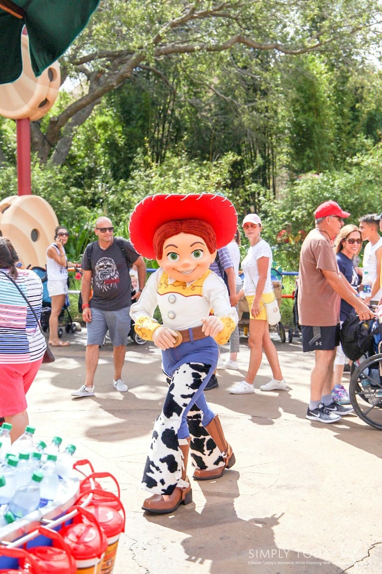 Toy Story Land Characters Meet and Greet
