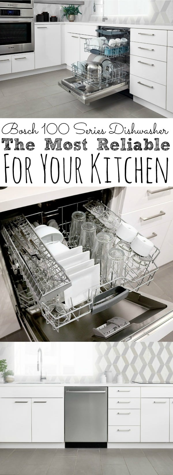 Bosch 100 Series Dishwasher The Most Reliable For Your Kitchen