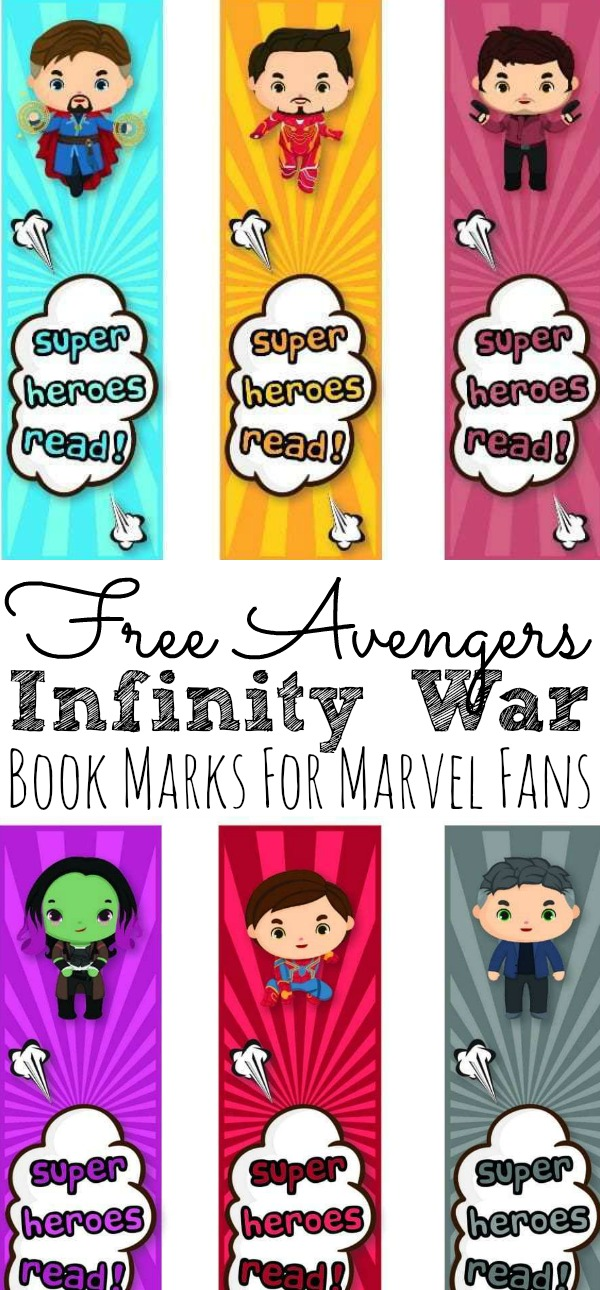 photograph relating to Star Wars Bookmark Printable identify Free of charge Avengers: Infinity War Bookmarks Additionally Electronic and Blu