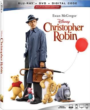 Disney's Christopher Robin Blu-rayjpg