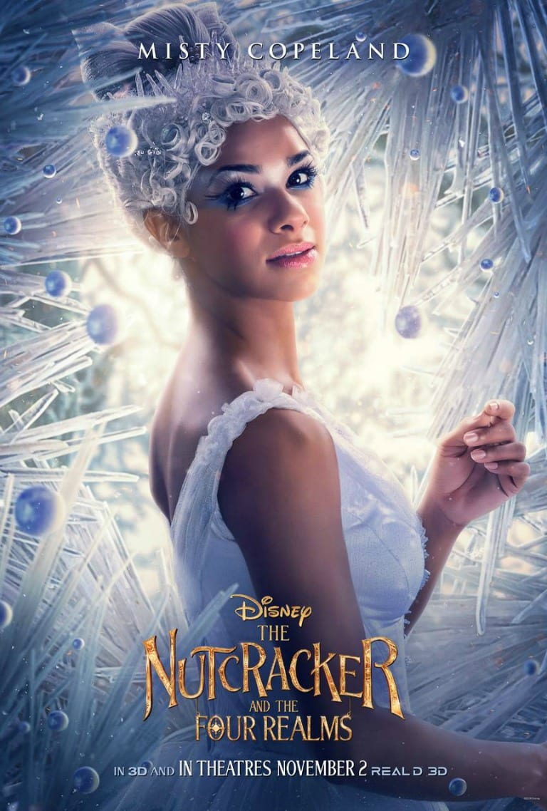 Misty Copeland as The Ballerina in The Nutcracker and the Four Realms