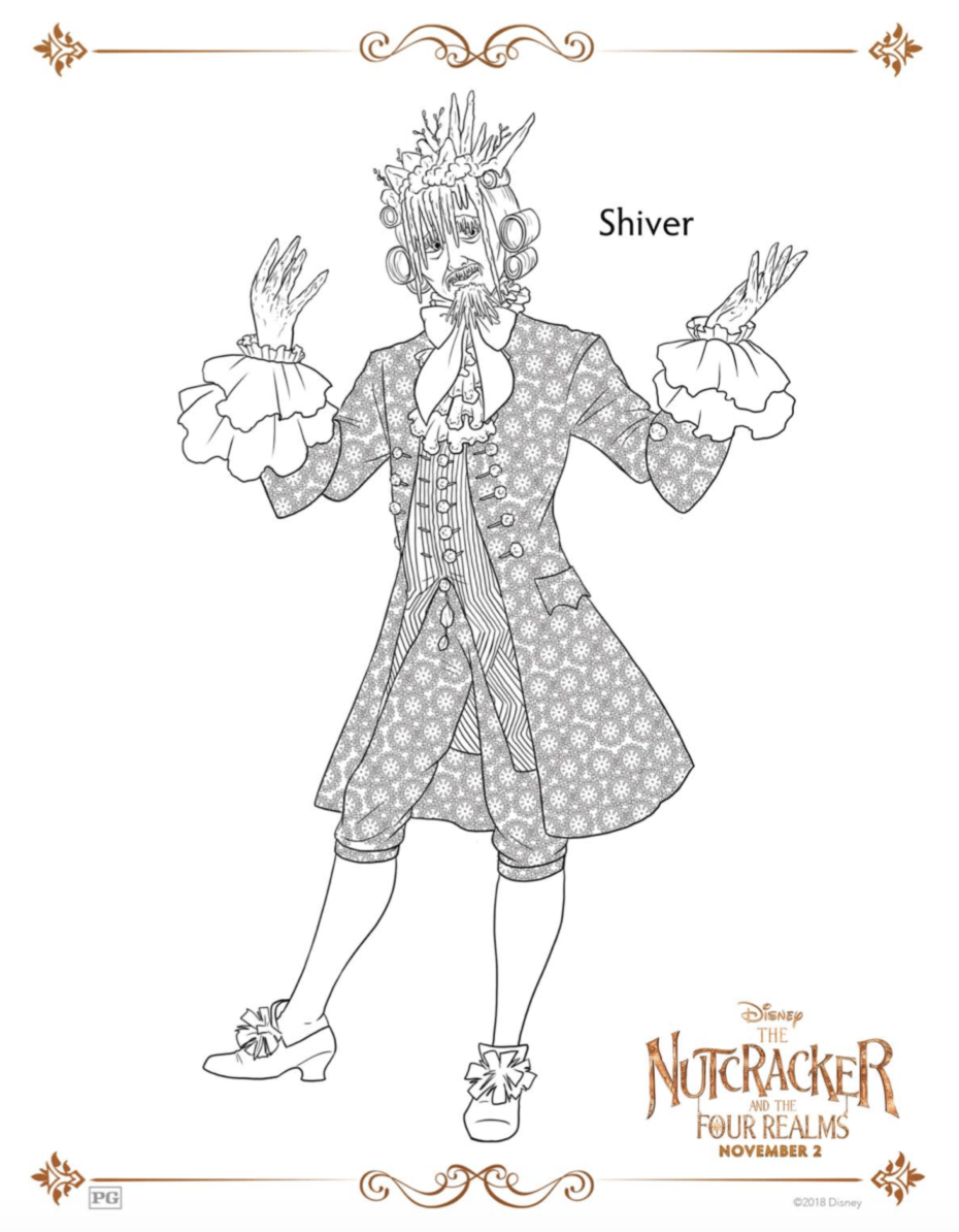 Shiver The Nutcracker and the Four Relams Coloring Pages