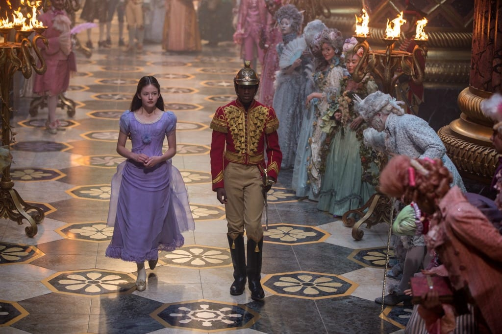 Is the movie Nutcracker and the Four Realms safe for kids?